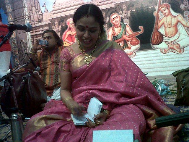 Sudha Ragunathan @ Abu Dhabi - 20th April'2012