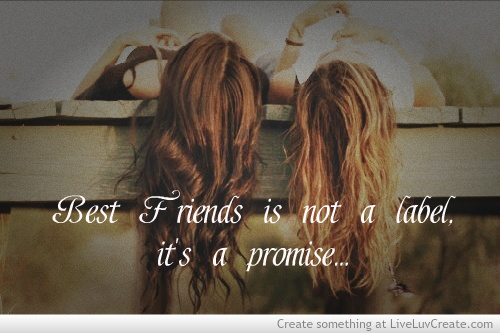 best-friend-lable-promise